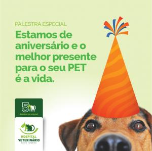 INSCRIÇÕES ENCERRADAS - Palestra 2-Palestra de Aniversário.Seu PET está em emergência? O que Fazer?