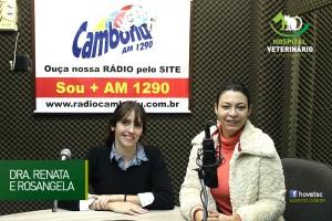 Entrevista M.V. Cardiologista Dra. Renata Barão Acuña na Rádio Camboriú